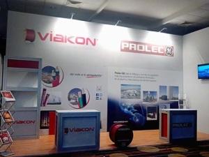 Stand de Viakon y Prolec GE.